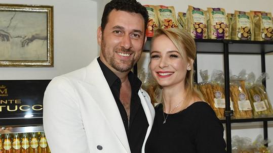 Domenico Martucci s manželkou Nikol