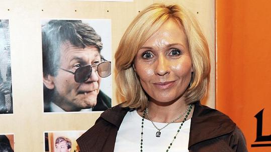 Tereza Pergnerová vzpomínala na zesnulého tátu.