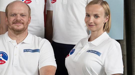 David Novotný a Jana Plodková v seriálu Kosmo