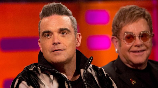 Robbie Williams a Elton John