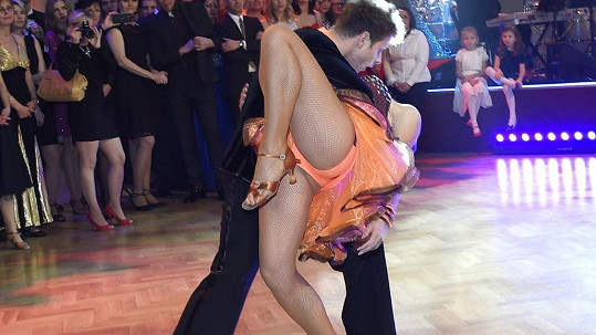 Kateřina Baďurová tančit nezapomněla.