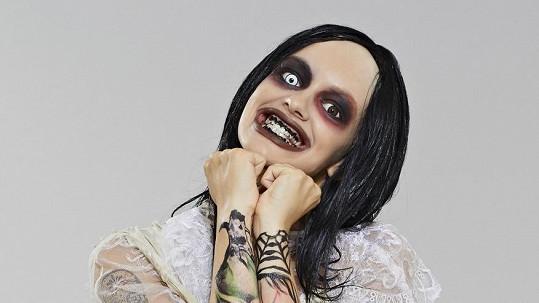 Jitka Boho jako Marilyn Manson