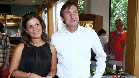Jan Antonín Duchoslav s novou partnerkou Šárkou