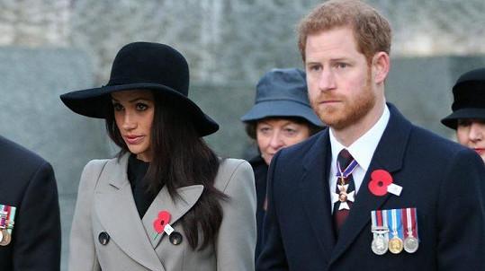 Meghan se už brzy stane Harryho manželkou.