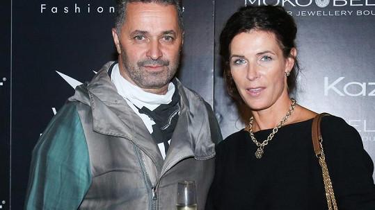Martin Dejdar s manželkou