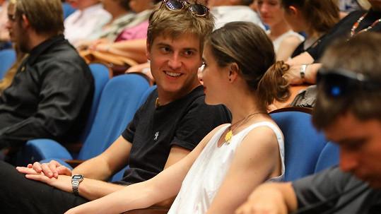 Eva Josefíková s přítelem