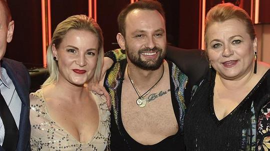 Na StarDance přišla Markovi Dědíkovi fandit konečně i jeho krásná manželka.