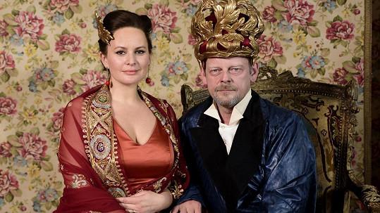 Jitka Čvančarová se postará o královskou podívanou...