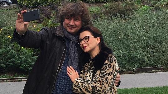 Petr Malásek a Dana Morávková