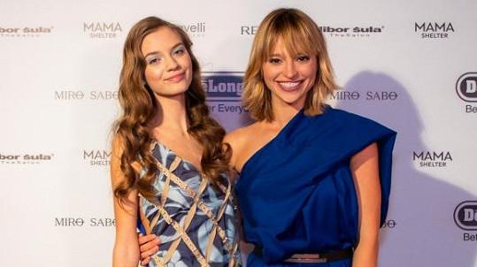 Vítězkou Czechoslovak TopModel se stala Nina Nagyová (vlevo).