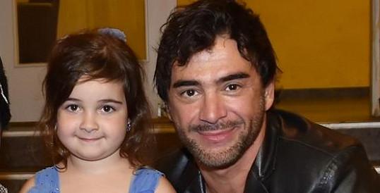 Sagvan Tofi s dcerkou