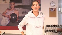 Vignerová se během cvičení rozpovídala o svém vztahu a kariéře.