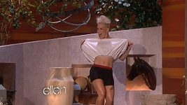 Pink u Ellen DeGeneres