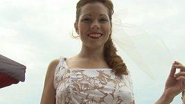 Michaela Nosková na svatební párty