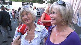 Jana Švandová a Jitka Morávková - autosalon
