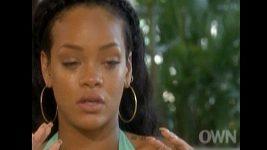Rihanna se rozplakala při rozhovoru s Oprah Winfrey