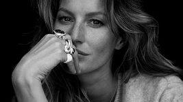 Gisele Bündchen pro šperky David Yurman