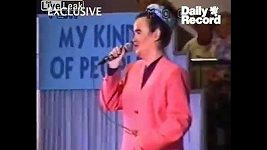 Susan Boyle na vystoupení v roce 1995