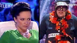 Na castingu Talentu se znovu objevil Bronislav Přikryl, který rozčílil Lucii Bílo doběla.