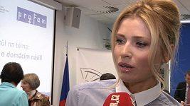 Daniela Peštová proti domácímu násilí