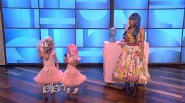 Sestřenice Sophia a Rosie zpívají s Nicki Minaj