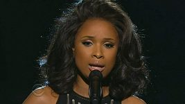 Jennifer Hudson zpívá I Will Always Love You od Whitney Houston