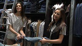 Monika a Aneta luxovaly butik v Pařížské.