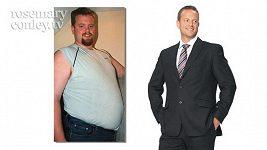 Muž se nevešel do turniketu, proto zhubl 65 kilogramů