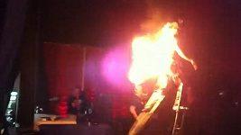 Hořící performer