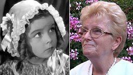 Podívejte se, jak dnes vypadá Adélka z Babičky (1940).
