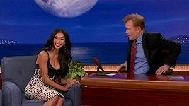Nicole Scherzinger u Conana O´Briena