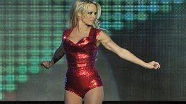 Pamela Anderson v argentinské taneční soutěži