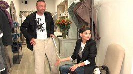 Vlaďka Erbová vypráví o flanelových košilích Tomáše Řepky.