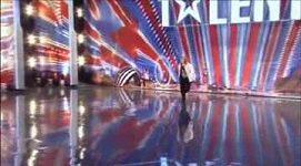 Neuvěřitelná taneční kreace Tracey Moranové v soutěži Britain´s Got Talent