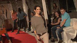 Eva Decastelo - nejmenší a nejstarší modelka u nás