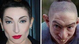 Holení hlavy Naomi Grossman