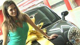 Petra Faltýnová a nové auto