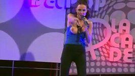 Laura Miller nečekaně okořenila své vystoupení v televizi