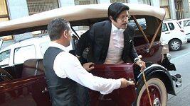 Osman Laffita na premiéře filmu Velký Gatsby