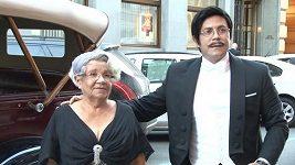 Osmany Laffita s maminkou