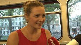 Eva Čerešňáková nám v Londýně prozradila, že je zamilovaná.