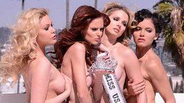 Miss USA se svlékly pro PETA
