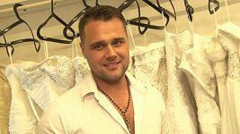Pavel Filandr svatební šaty