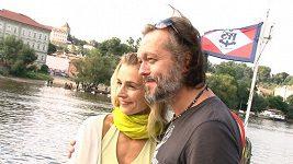 Ivana Jirešová s manželem