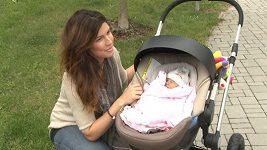 Victoria měla strach o své novorozené miminko.