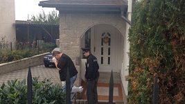 V Rychtářově vile zasahovala policie.