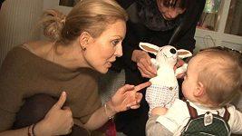Simona Krainová oslava děti