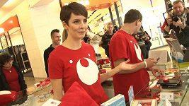 Gabriela Kratochvílová prožívá nákupní galeje.
