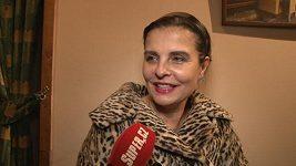 Jana Krausová je opravdu krásná babička.