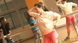 Lenka Zahradnická už teď dělá raději jen tanec.